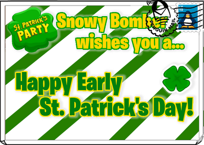 Happy Early St. Patrick's Day