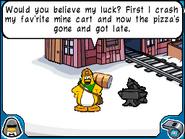 Miner penguin bad luck