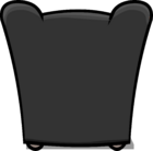 Plush Gray Chair sprite 005