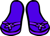 Purple Sandals icon