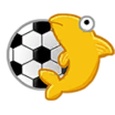 Calcomanía Copa Fluffy icono