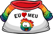 I Heart My Rainbow Puffle T-Shirt icon pt