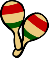 Pair of Maracas old icon