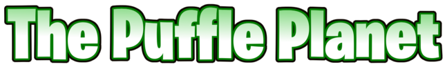 The Puffle Planet burbank font