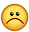 CPNext Emoticon - Sad Face