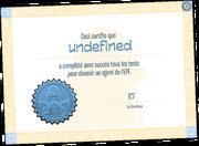 EPF Certificate full award fr