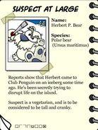 Herbert P. Bear info page