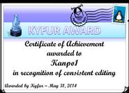 User:Kyfur