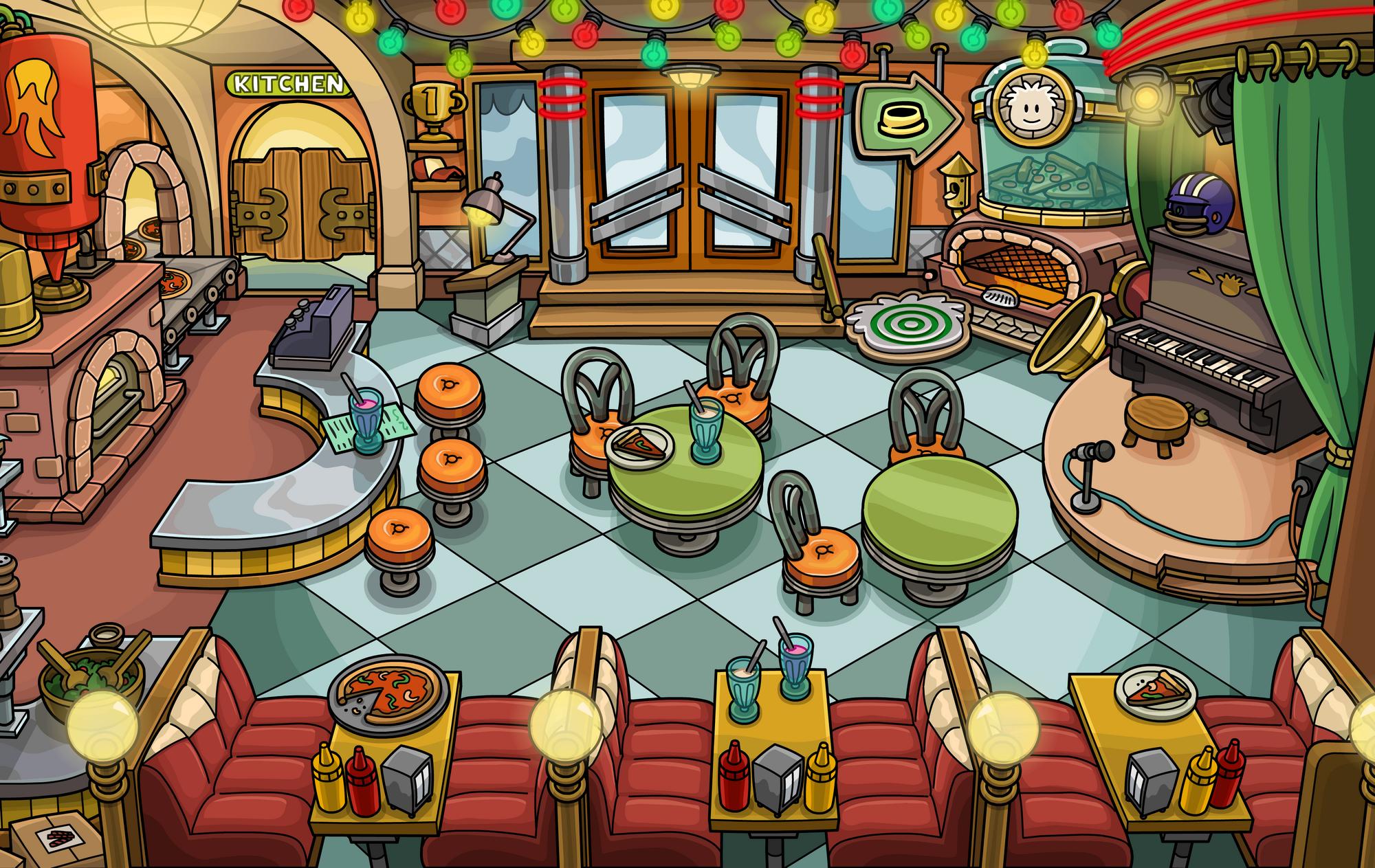 Pizza Parlor   Club Penguin Wiki   FANDOM powered by Wikia