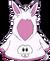 Cangurito de Conejo Blanco icono