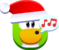 Pingüino cantando