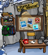 Puffle Rescue sign