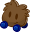 Wooden Wheelie Puffle icon