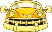 Golden Bumper Car clothing icon ID 4994