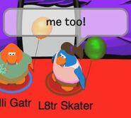 L8tr Skater: ¡A mi también!