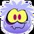 Traje de Puffle Fantasmagórico icono