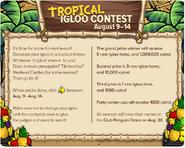 TropicalIglooContestTCPT354