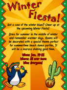 Winter Fiesta 2007 advertisement