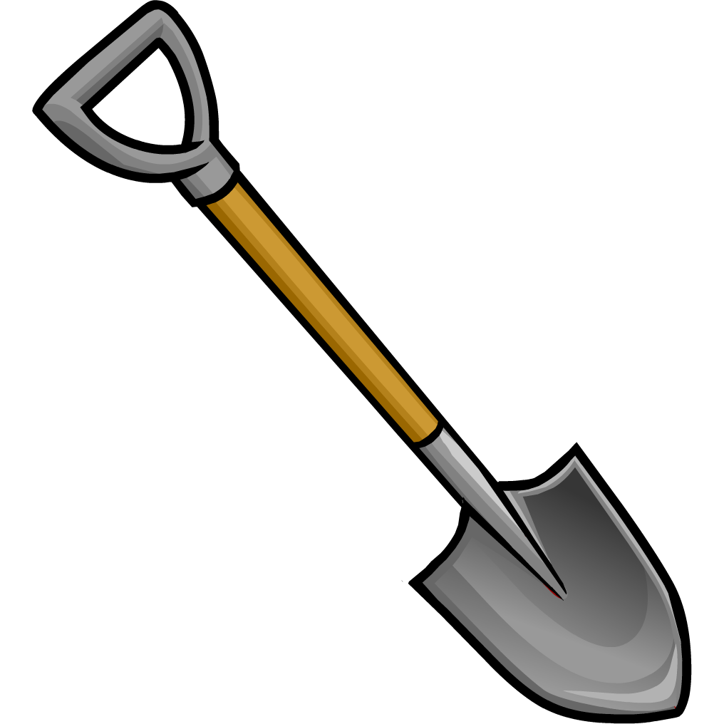 grey shovel club penguin wiki fandom powered by wikia digging clipart digging clip art images