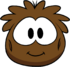 Brown Puffle Costume