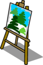 Easel sprite 004