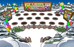 Puffle Party 2009 Puffle Feeding Area