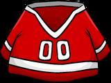 Red Hockey Jersey