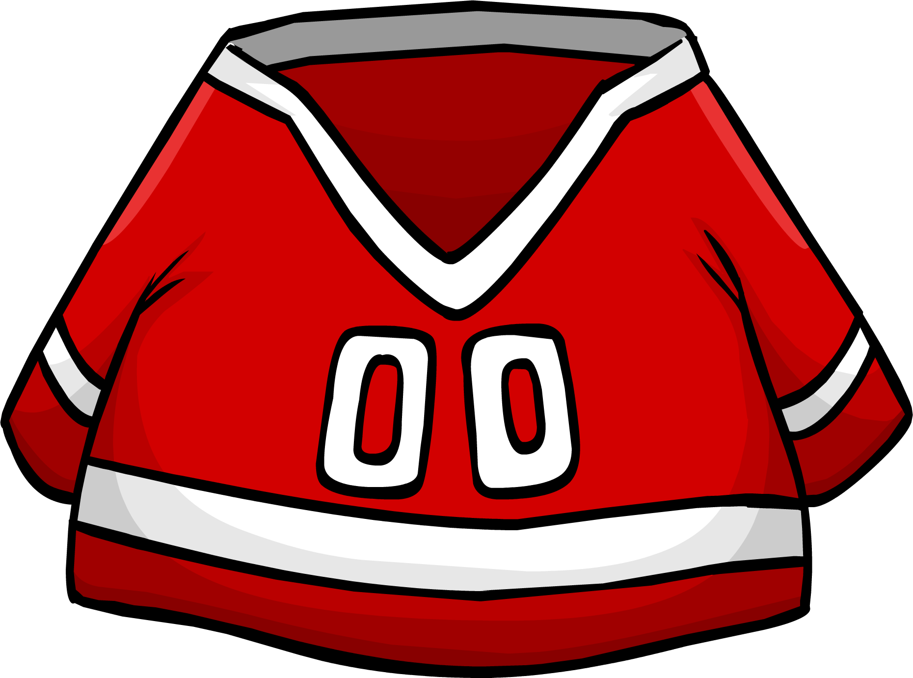 Image result for club penguin red hockey jersey