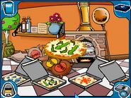 Seaweed pizza order