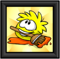 Yellow Puffle Picture furniture icon ID 672