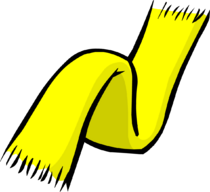 Yellow Scarf clothing icon ID 172