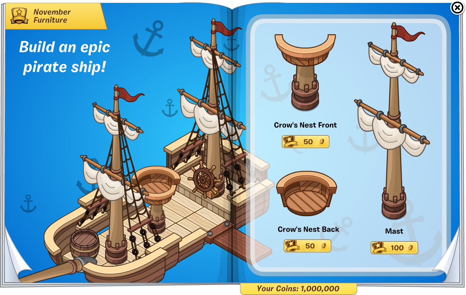 furniture catalogs 2014. Catalogs Furniture November 2014 Pirate Collection 1.png