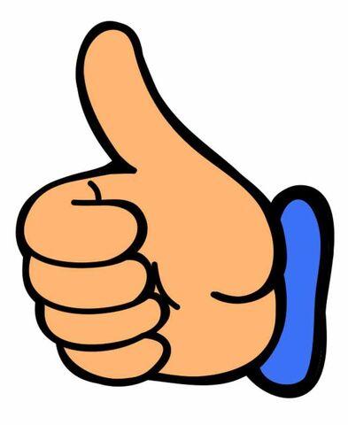 image smile thumbs up clip art clipart image 0 jpg club penguin rh clubpenguin wikia com