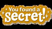 You Found A Secret Logo