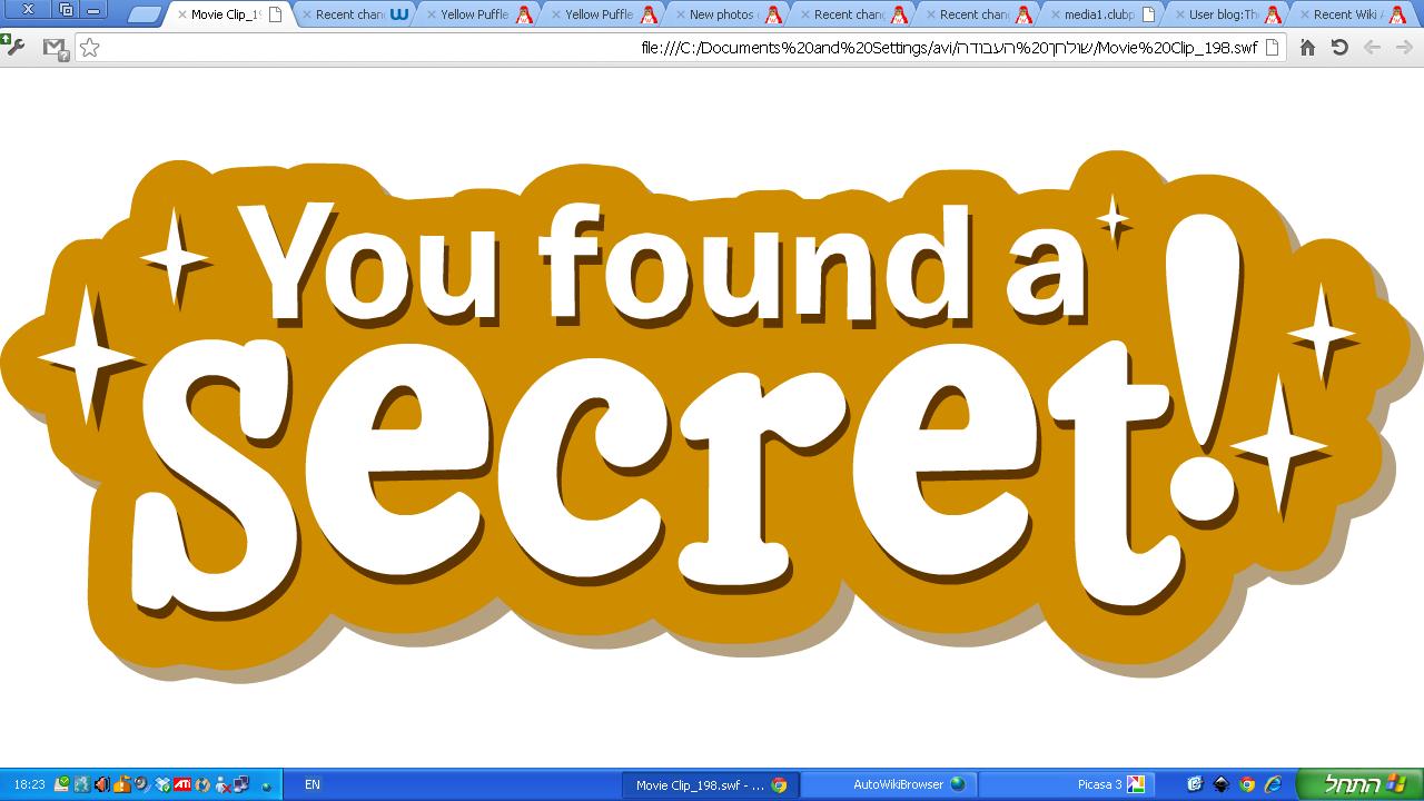 Image result for you found a secret cp