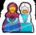 Anna and Elsa Pin icon