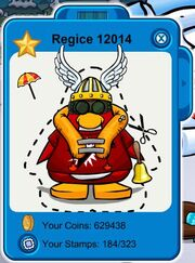 Club Penguin Regice 12014 Playercard8