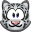 Emoji Snow Leopard