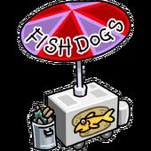 Fish Dogs Stand Stadium