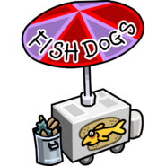 Fish Dogs Stand Stadium