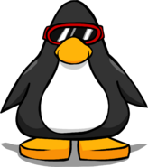 Red Ski Goggles PC