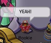Rookie diciendo yeah