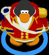 Scarlet Admiral Coat In-Game