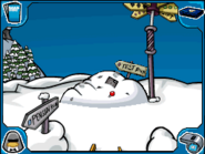 Ski Hill snow pile