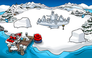 Snow Sculpture Showcase Dock