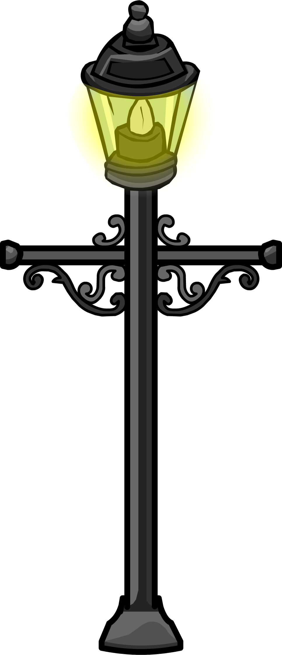 Wrought iron lamp post club penguin wiki fandom powered by wikia wrought iron lamp post mozeypictures Choice Image
