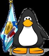Bandera de la Copa CP carta
