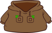 Brown O'berry Hoodie icon