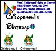 Childpengu BDen