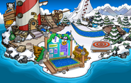 Fiesta Isla de Club Penguin Playa